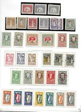 Lithuania stamps 1920 Collection of 34 stamps HIGH VALUE!