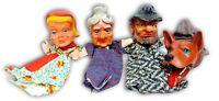 grandi marionette da collezione anni 50 vintage teatrino marionette