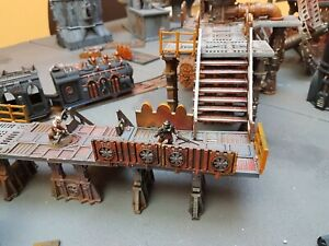 Industrial barriers with Fan - Necromunda, killteam sector mechanicus