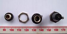 2 pequeños Vintage Belling Lee Panel Mount Portafusibles sólo de 0.625 pulgadas