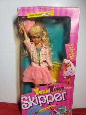 VINTAGE 1988 TEEN TIME SKIPPER BARBIE DOLL NRFB!!! FREE SHIPPING!!!
