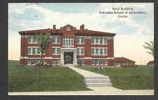Dated 1915 Vintage Ppc Curtis Neb Nebraska School Of Agriculture