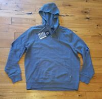NWT Mens FREE COUNTRY indigo heather Ultimate Luxe Hoodie Size Medium M