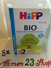 Hipp Organic First Infant Milk Stage 2 ( 5 boxes)Baby Formula from Germany