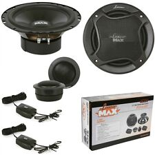 SET LANZAR 16,50 165 MM MX6C WOOFER TWEETER CROSSOVER SET UP CAR 2-WAY