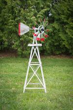 4 Ft Hand Made in the USA! Aluminum Garden Windmill