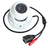 HD 1MP 720p in/outdoor Mini Dome CCTV Securiy IP Camera IR 20M 3.6mm Lens Onvif