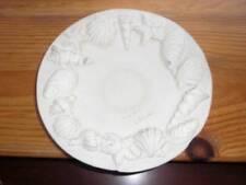 "Italy ~ Vintage 10"" Decorative Plaster? Shell Decorative Dish"