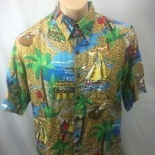 EUC Reyn Spooner Traditionals Collection Aloha Shirt, Hawaiian Size Medium