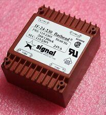 Signal Transformer IF-24-230 Flathead 115v/230v, 24VA (28N108)