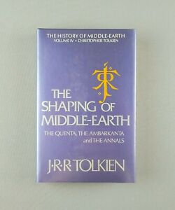History of Middle-Earth: The Shaping of Middle-Earth by J.R.R. Tolkien (1st Ed)