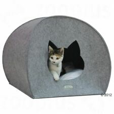 Cat Igloo Cave Den Bed Removable Cushion Washable Felt Soft Quality Hideaway
