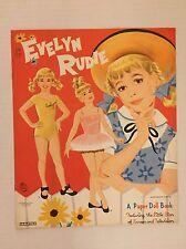 VINTAGE Paper Doll - Evelyn Rudie - Saalfield