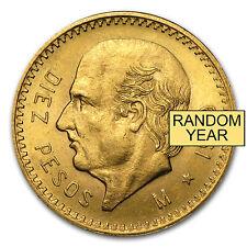 Random Year 0.2411 oz Mexican 10 Pesos Gold Coin