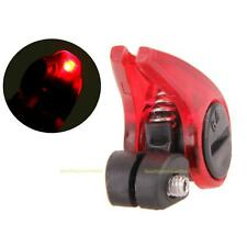 Portable MTB Bicycle Cantilever Brake Light Cycling Red LED Safety Warning Lamp