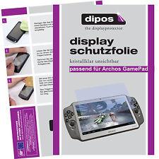 2x Pellicola Protettiva per Archos GamePad Chiaro Pellicola protezione DISPLAY INVISIBILE ANTIGRAFFIO
