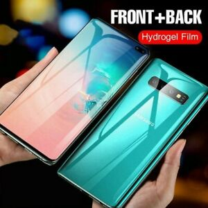 Front Back Full Cover Hydrogel Film For Samsung Galaxy S9 S8 S10 Plus Note 8 9