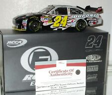 2009 RCCA JEFF GORDON #24 NATIONAL GUARD YOUTH CHALLENGE AUTOGRAPHED ELITE W/COA