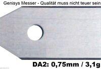 30 EXTRADICKE Ersatzmesser 0,75mm für Husqvarna Automower EXPRESSVERSAND!!!
