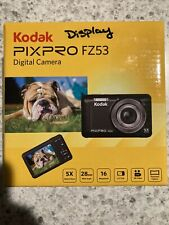 Kodak Fz53-bl Point and Shoot Digital Camera With 2.7 LCD Blue