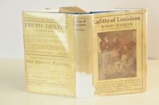 1902 Lafitte of Louisiana By Mary Devereux w/ Dust Jacket Novel Book