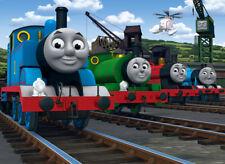 Thomas the Train Iron On Transfer Light/Dark Fabrics 5 x 7 Size