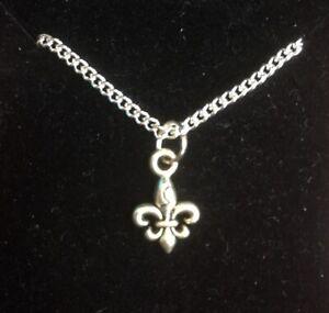 Fleur De Lis Pendant Necklace