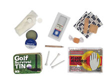 BRAND NEW Golf Survival Tin Outdoors Golfers Compact Golfing Equipment