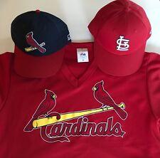MLB Cardinals Gift Set: 2 Caps and Adult Medium Jersey