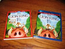 The Lion King 1 1/2 Disney (Blu-Ray+DVD+Digital) Brand New; Sealed + I Ship Fast