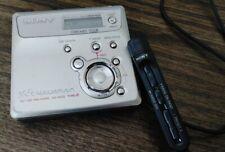 Sony Mz N505 Type R Net Mini Disc Walkman w/ Rm-Mc22F Remote Control - Working!