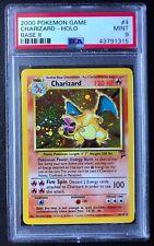 2000 Pokemon Base II 2 Charizard Holo #4 PSA 9 Mint