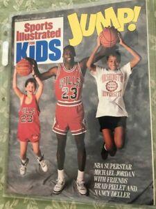 Michael Jordan Sports Illustrated for Kids 1st Premier Issue Near MINT 1989