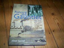book running the gaunlet giant liners carrying men to war 1942-45 A Satchell