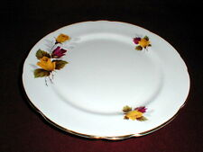 Royal Stafford Bone China Yellow Red Roses Dessert Plate