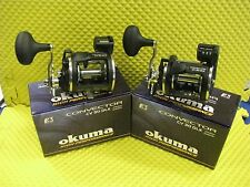Okuma Convector CV 30DLX Left Hand Retrieve Line Counter Trolling Reel 2 PACK