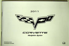 GM 2011 Corvette Navigation Manual #20955275A