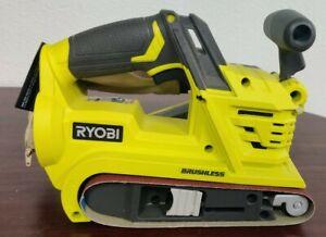 Ryobi One+  P450 18V Brushless Cordless Belt Sander (Tool Only)