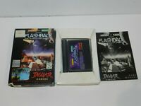 Flashback The Quest for Identity Atari Jaguar Game Complete CIB Tested #2