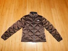 The North Face Goose Down 550 Quilted Winter Parka Puffer Women Size XS Brown