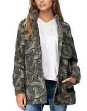 Rip Curl Womens S/8 ANORAK SHERPA Lined JACKET COAT - GJKAA1 Olive Rrp $159.99