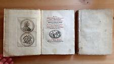 PRINTED 1761 SPEECHES OF ITALIAN DOCTOR ANTONIO COCCHI PHYSICIAN ANTIQUARIAN