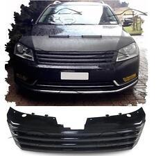 FRONT BLACK GRILL FOR VW PASSAT B7 from 2010 NO EMBLEM SPOILER BODY KIT