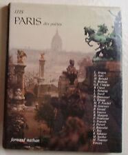 PARIS des Poètes IZIS éd Fernand Nathan 1977