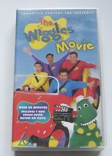 THE WIGGLES MOVIE - VHS Video Original line up