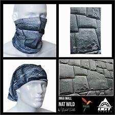New listing Inka Wall Neck Gaiter Face Mask   Breathable Face Bandana   Bandana Balaclava