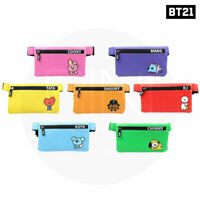 BTS BT21 Official Authentic Goods Sling Bag 225 x 130 mm By Kumhong Fancy