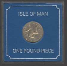 More details for 1978 isle of man cased one pound coin | pennies2pounds