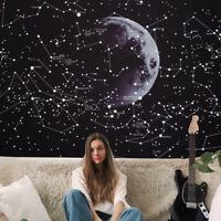Psychedelic Constellation Galaxy Space Pattern Wall Tapestry Hanging Decoration