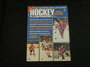 1974  NHL Hockey Illustrated - Special Year in Retrospect - 8 Colour Pin Ups